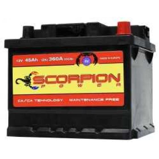 AKUMULATOR SCORPION POWER 12V55AH D+ 04778