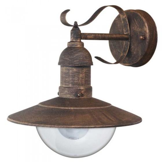 VANJSKA ZIDNA LAMPA OSLO STARO ZLATO E27 60W IP44 8271