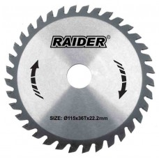 LIST KRUŽNE PILE RAIDER 200*16 MM. 24 Z (163130)
