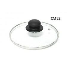 POKLOPAC ST/INOX PYREX 22CM  02101220