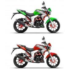 MOTOCIKL RSX 200  ZELENI
