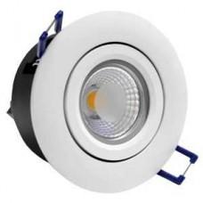 LED UGRADNI NEPTUN DOWNLIGHT BIJELI SPF00080 3W/6000K F85