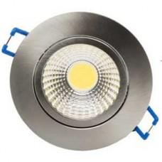 LED UGRADNI NEPTUN DOWNLIGHT INOX SPF00085 5W/3000K F85