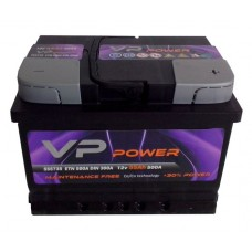 AKUMULATOR VP POWER 12V 55 AH D+ 04328