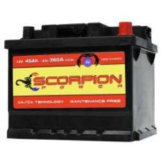 AKUMULATOR SCORPION POWER 12V55AH D+ 04778