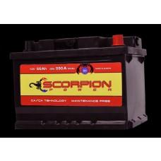 AKUMULATOR SCORPION POWER 12V66AH D+ 04780