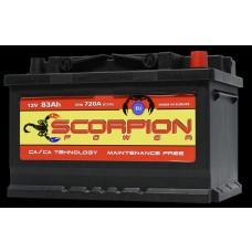AKUMULATOR SCORPION POWER 12V83AH D+ 04782