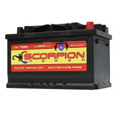 AKUMULATOR SCORPION POWER 12V110AH D+ TRAKTOR 04784