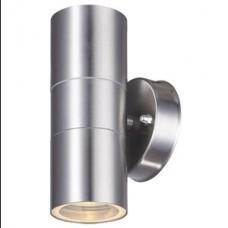 LAMPA TORINO ZIDNA VANJSKA  INOX IP 44 2XGU10  19017