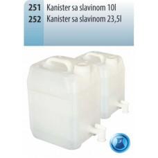 KANISTER SA SLAVINOM 10L KP 251