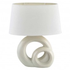 LAMPA STOLNA TORY BIJELO/KREM E27 60W 4518